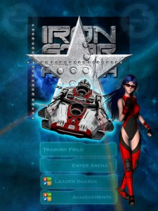 IronStar Arena Main Menu