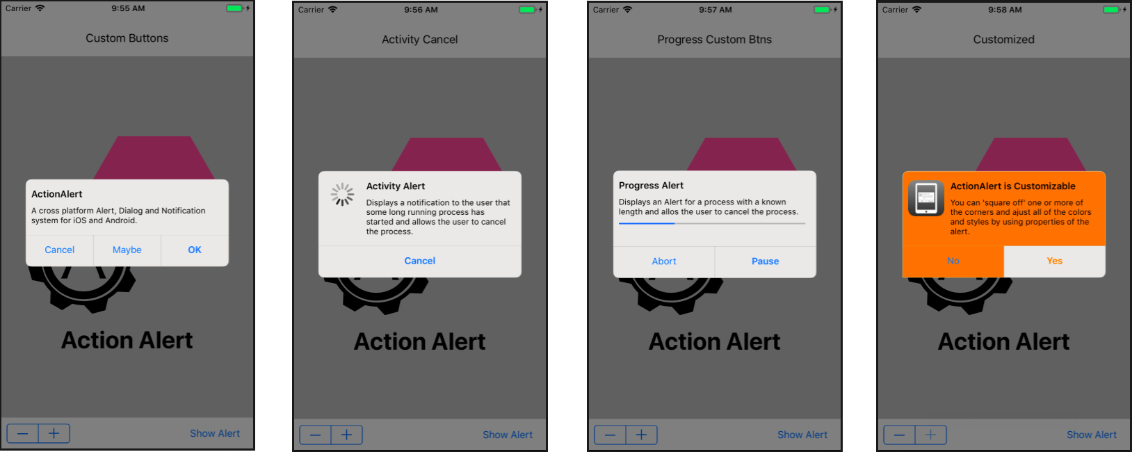 Appracatappra Action Components v4.5 for Xamarin